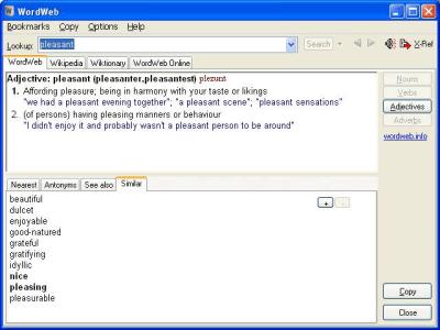 WordWeb 8.21 Crack For Mac Free Download