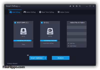 IObit Smart Defrag Pro 6.6.5.16 Crack With Serial Key Full Version 2021