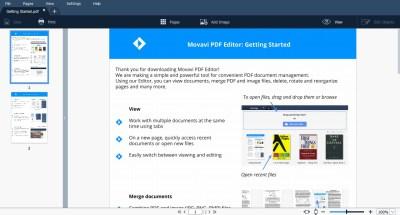 Movavi PDF Editor 1.6 Crack And Keygen Free Download