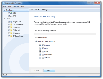 Auslogics File Recovery 9 0 0 1 Crack + Activation Code Full
