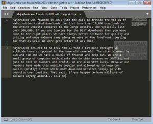 Sublime Text 3 2 1 Build 3207 Crack Lifetime License Key