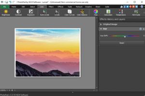 NCH PhotoPad Image Editor Pro 6.55 Crack + Serial Key Full Version