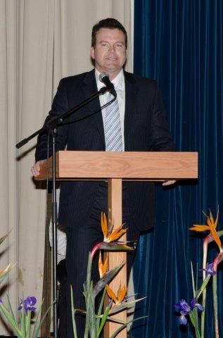 Groeteboodskap oorgedra deur mnr. Stephan Claassen, Provinsiale Hoof FNB Wes-Kaap.