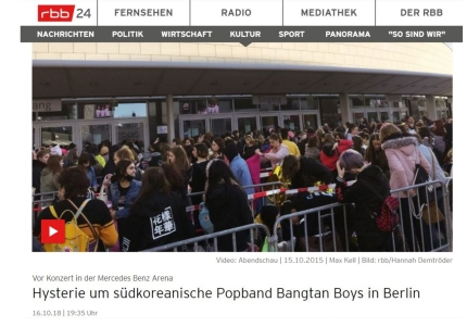 How German media perceives K-pop phenomenon: <br/><small> Orientalism and Othering