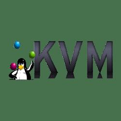 Serwer KVM wewnątrz serwera VMware ESXi.