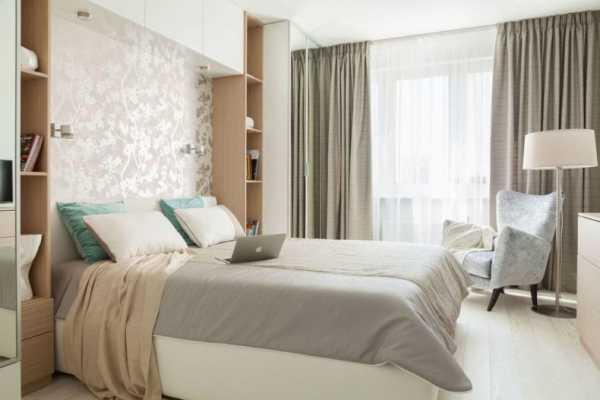 дизайн маленькой спальни 2019 3