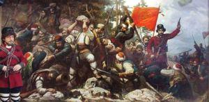 Battle at Mechkin Kamen, Krushevo, Macedonia 1903.
