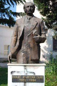 Vlado Maleski Monument in Struga