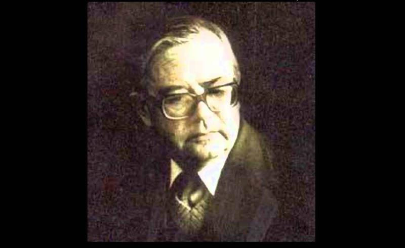 Blazhe Koneski (December 19, 1921 – December 7, 1993)