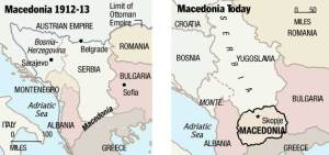 Macedonia then and now