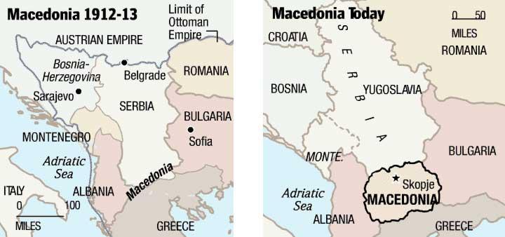 Concise History Of Macedonia Virtual Macedonia