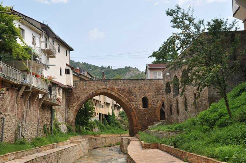 Rada's Bridge (Radin Most), an example of Ottoman architecture in Kratovo