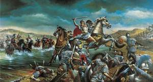 Alexander The Great battle.
