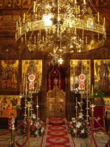 Iconostas from the Monastery of St. John Bigorski, 19th century