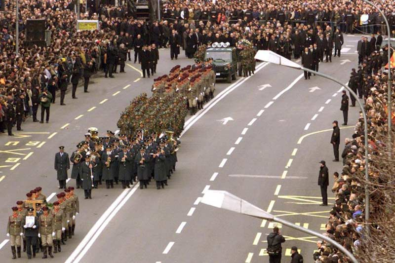The funeral of President Boris Trajkovski