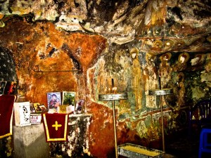 Cave Church Holy Virgin Of Pestani