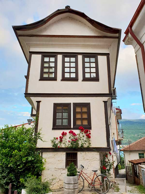 Kanevce Family House, Ohrid.