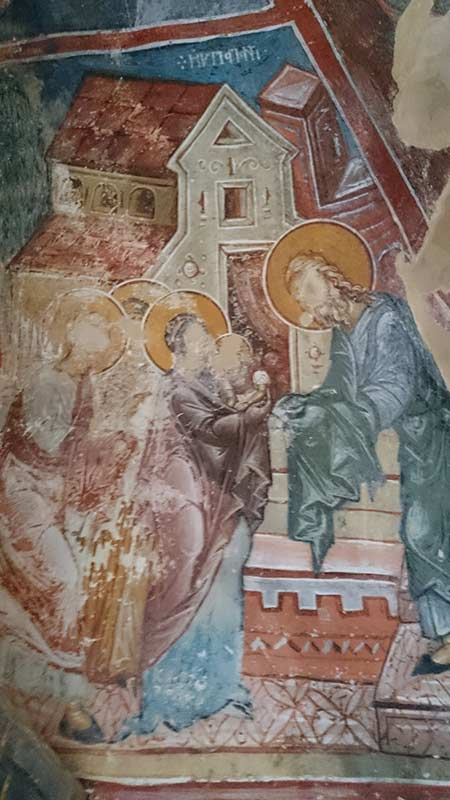 The Presentation of Christ in the Temple St. Athanasius church