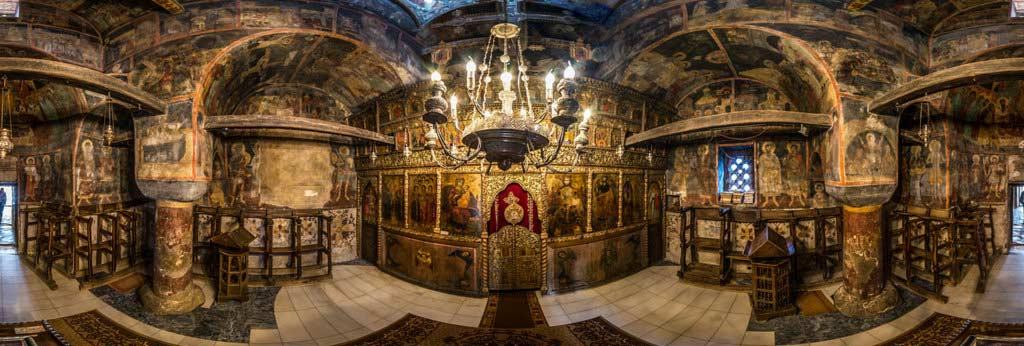 Iconostatis St. Naum Church.
