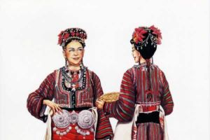 Woman's costume, Bojmija - Gevgelija village Miravci