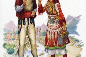 Wedding costumes, Mala Reka - Mijaci - Galichnik.