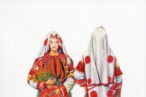 Woman's costume, Debarsko Pole.