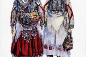 Woman's costume, Mavrovsko Pole.