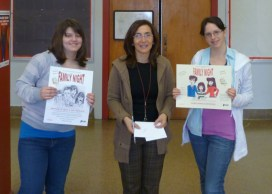 Family Night Poster contest winners