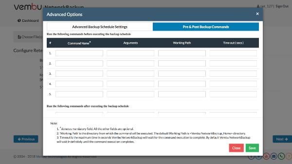 Vembu BDR Suite v3.9.0-Advanced