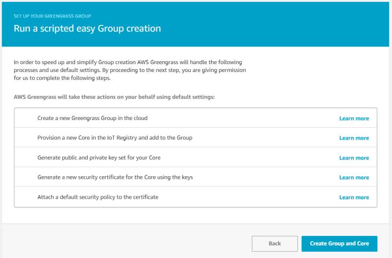 Run a Scripted easy group creation