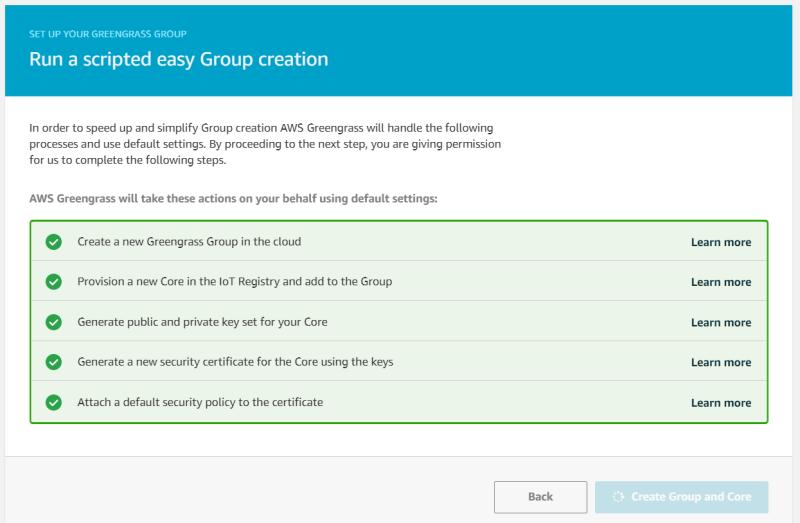 AWS Greengrass on VMware vSphere Installation Progress