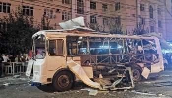 Взрыв в воронежском автобусе: число пострадавших выросло до 18 (видео)