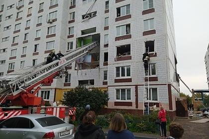 Число пострадавших после взрыва газа в доме в Подмосковье снова увеличилось