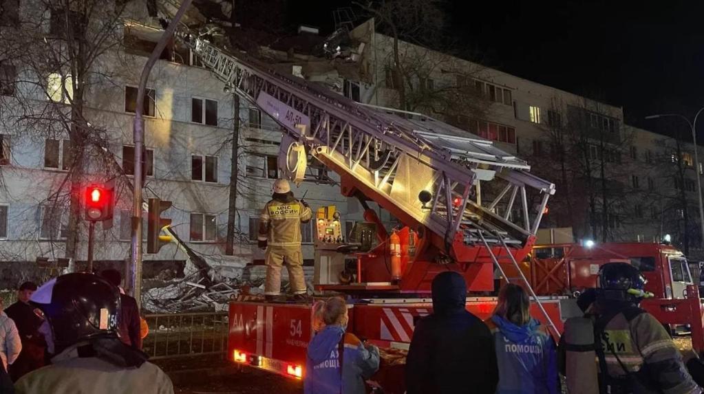 В Набережных Челнах произошел взрыв в жилом доме