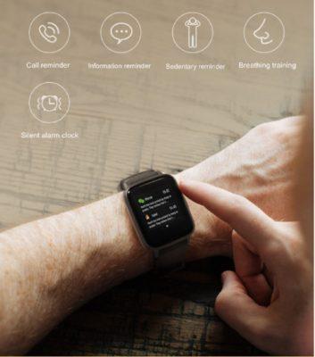 Haylou SL01 Black 3 Haylou LS01 Smart Watch