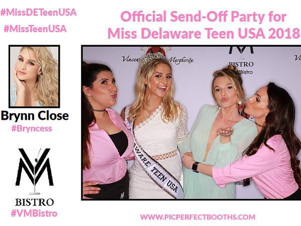 Official Send Off Party for Miss Delaware Teen USA 2018
