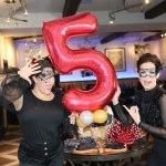 vm bistro happy anniversary party