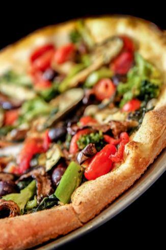 NY Style Vegetable Pizza in Delaware