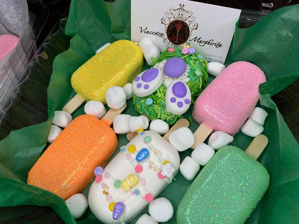 Cakesicles for Easter