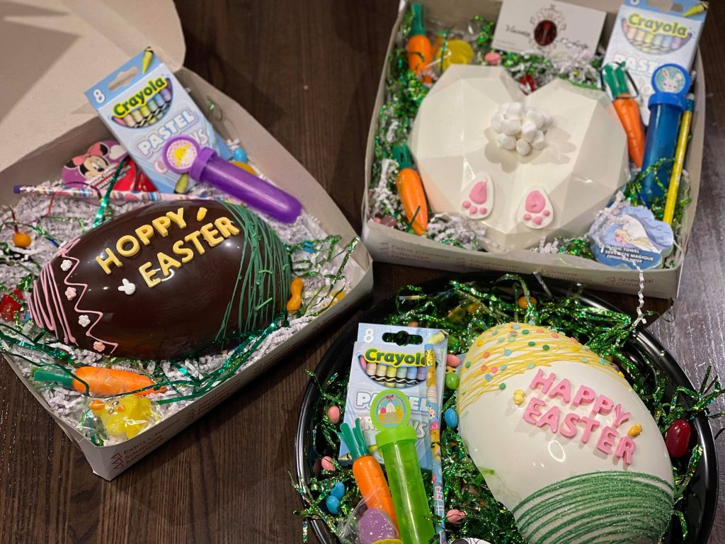 Easter Boxes in Wilmington Delaware