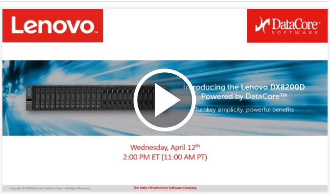 Lenovo and Datacore