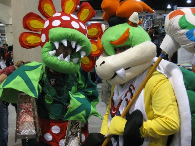 Bowser Jr. & Piranha Plant