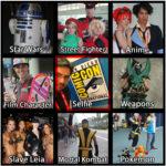 Comic-Con Bingo (Easy) B by vmcampos
