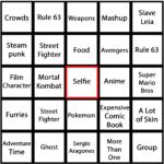 Bingo Board (Hard) B