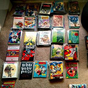 Comic Books A to Zed