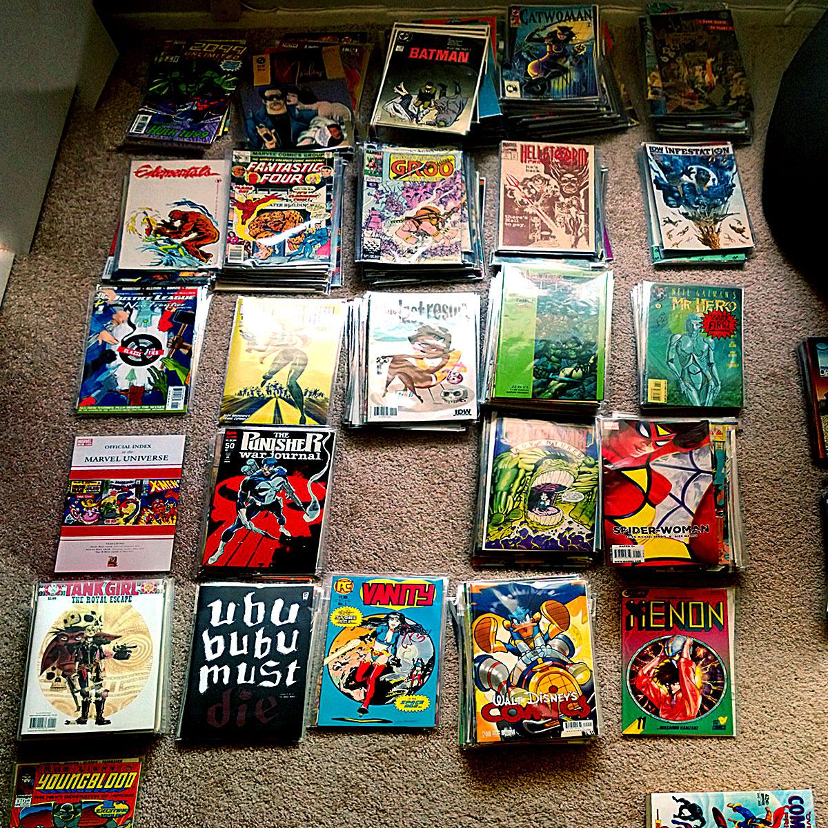 Comics A to Zed