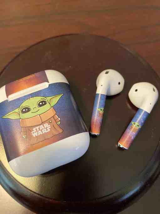 Baby Yoda AirPods