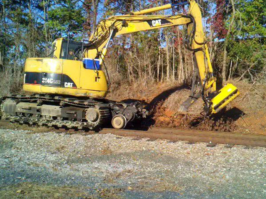Excavator Flail Mower | Brush Cutters & other Well-Built Attachments