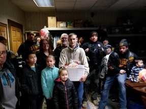 Erie Veterans Receive Thanksgiving Baskets -5