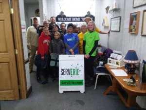 """Serve Erie"" Volunteers Help VMCE"
